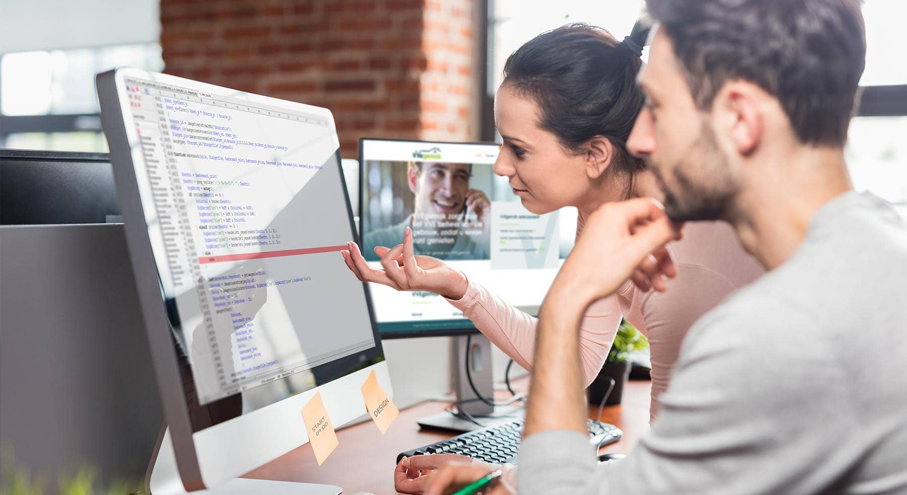 Het verschil tussen webdesign & webbouw